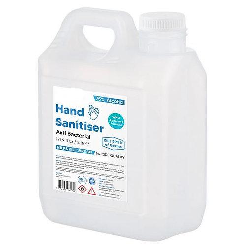 Hand Sanitiser (Liquid, Low Odour) - Irish Made