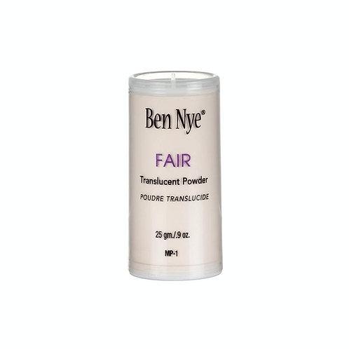 Ben Nye - Fair Translucent - Classic Face Powder -  9oz / 25gm