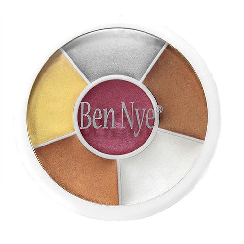 Ben Nye - Fireworks Fantasy Wheel - 6 Colors