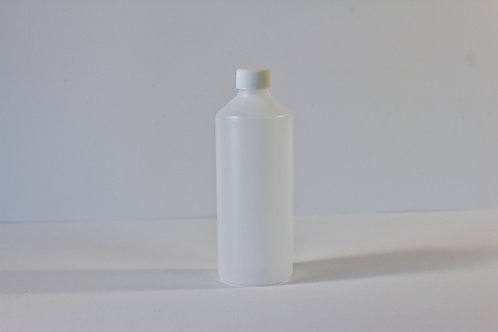 500ml HDPE Bottle With white 28mm caps