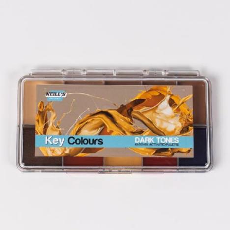 Key Colours Palette – Dark Tones