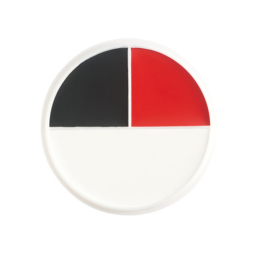 Ben Nye - Creme Character Wheel - Red, White, Black