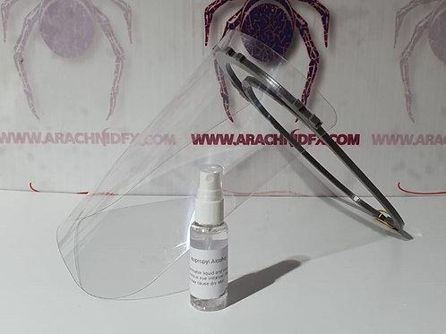 Faceshield/Mask/Spray Kit