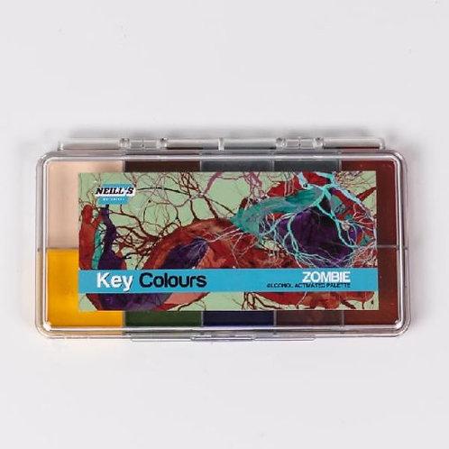 Key Colours Palette – Zombie Tones
