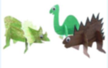 דינוזאורים בתלת מימד