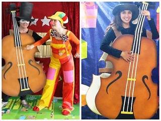 הליצן והכינור