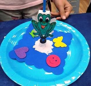 הצפרדע המגנטית שלא יכולה לשבת