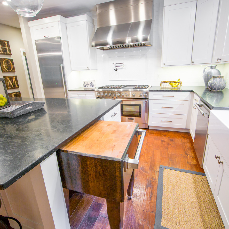 Kitchen Island Butcher Block
