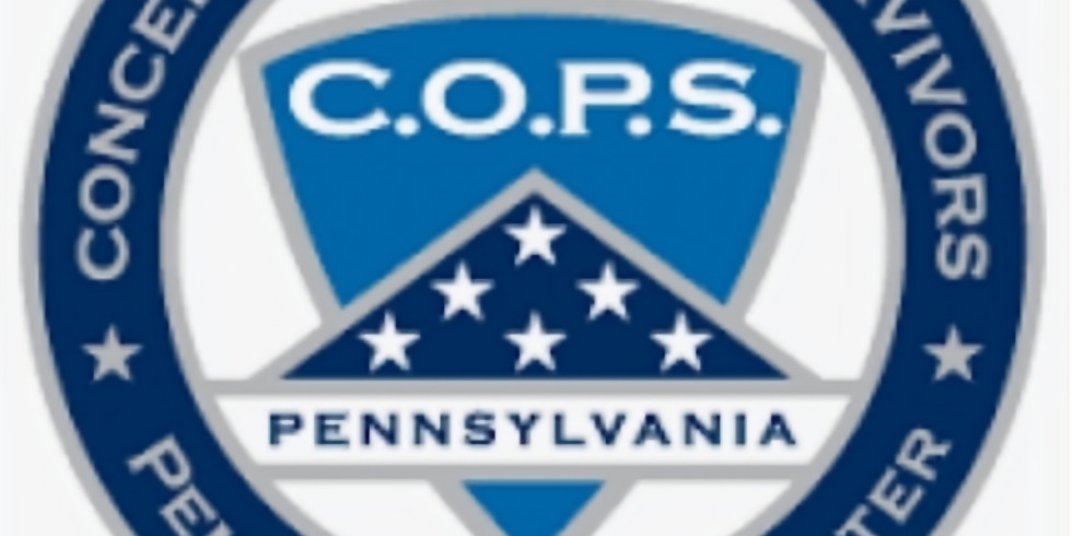 PA State : Support Gettysburg COPS Ride