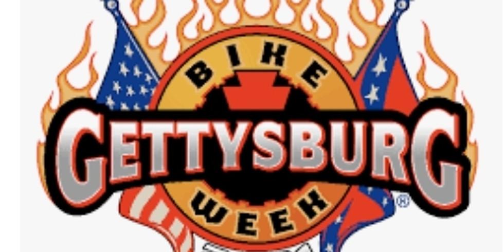PA State Recruitment Table at Gettysburg Bike Week