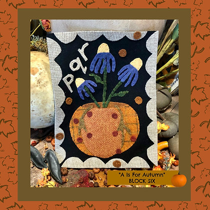 """NEW!  #514 """"A is for Autumn - PQR"""""""