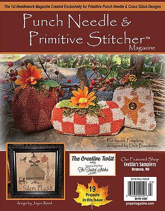 NEW!  2019 Fall Punch Needle & Primitive Stitcher