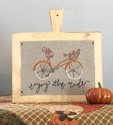 """NEW!  #826 """"Enjoy the Ride - Autumn"""""""