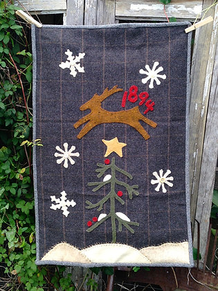"#243  ""Let It Snow"" Pattern"
