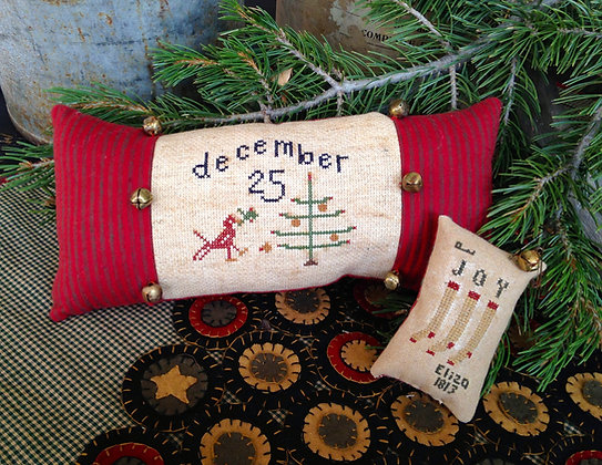 "NEW!  Olde ""December 25"" Counted Threads Pattern"