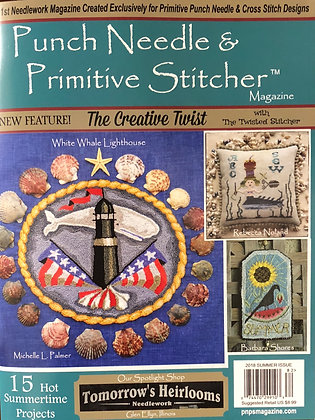 NEW!  2018 SUMMER Punch Needle & Primitive Stitcher