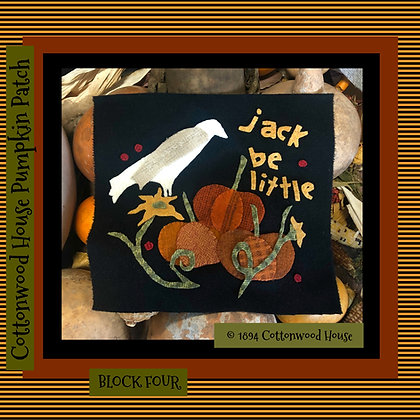 """NEW!  #590 """"Jack Be Little"""""""