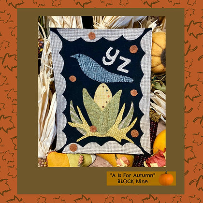 """NEW!  #526 """"A Is For Autumn - YZ"""""""