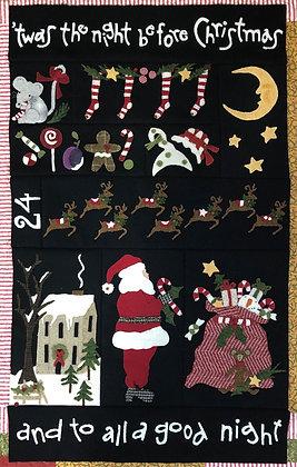 """'Twas the Night Before Christmas"" BOM Patterns"