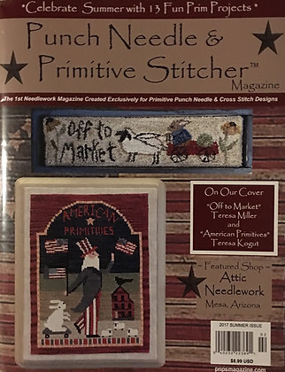 Punch Needle & Primitive Stitcher 2017 Summer