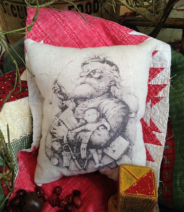 """Olde Vintage """"Jolly Jolly"""" Pantry Pillow"""