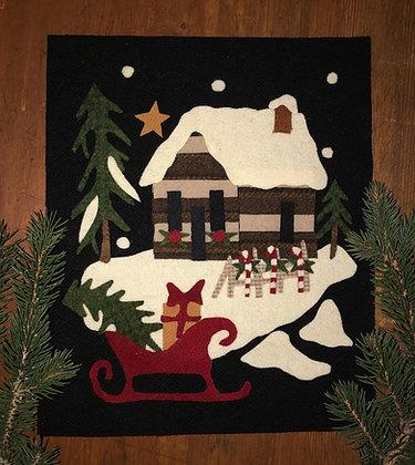 "NEW!  #437 ""A Cabin Christmas"" Block Six"