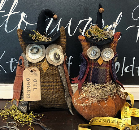 "NEW!  #401 ""Happy OWL-OWeen"""
