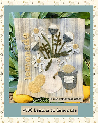 "NEW!  #560 ""Lemons to Lemonade"" KIT WO"
