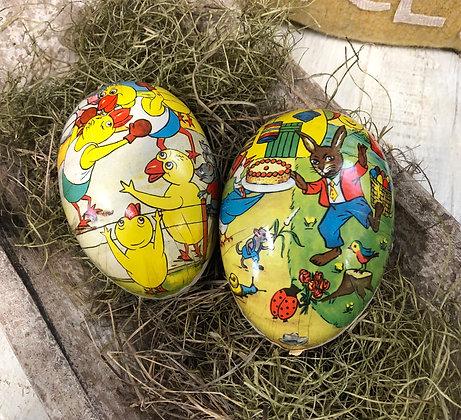 NEW!  Olde Vintage German Easter Egg Set #4