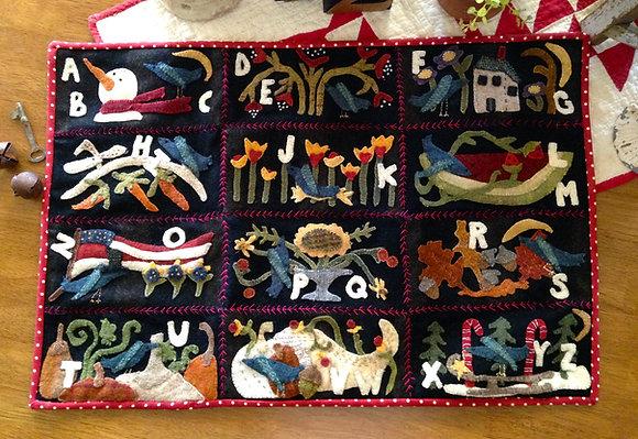 """#247 """"Celebrations""""  Wool Applique Pattern"""