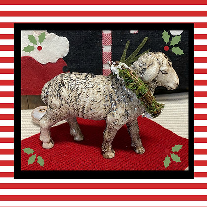 NEW!  Olde Wooly Christmas Sheep