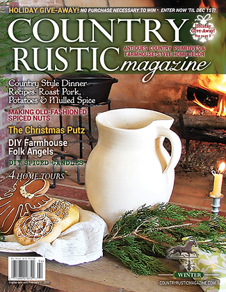 NEW!  Country Rustic Magazine Winter 2019