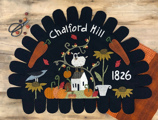 """NEW!  #507 """"A Lil Cottage on Chalford Hill - Autumn"""""""