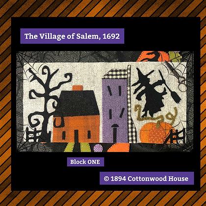 "NEW!  #546 ""The Village of Salem, 1692"""