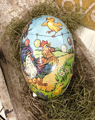 NEW!  Olde Vintage German Easter Egg #6