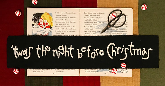 "NEW!   #350 ""Twas the Night Before Christmas""  Block One"
