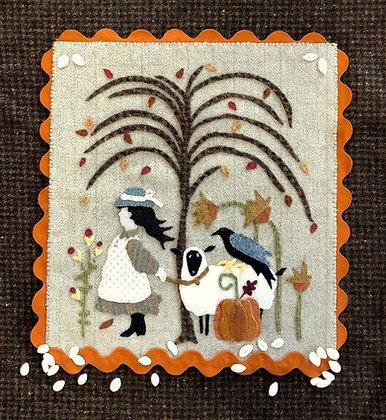 "NEW!  #411 ""Mary Had A Little Lamb - Autumn"""