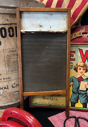 NEW!  Antique Child Washing Board
