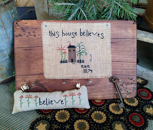 "NEW! ""This House Believes"" Counted Threads Pattern"