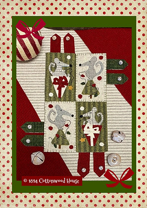 """NEW!    #618 """"The Merriest Wooly Mice"""""""