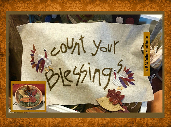 "NEW!  #572 ""Count Your Blessings"" KIT"