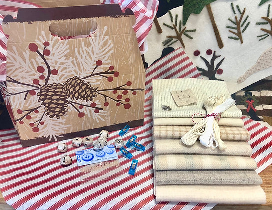 "NEW!  ""Baby It's Cold Outside"" Wooly Gift Box"