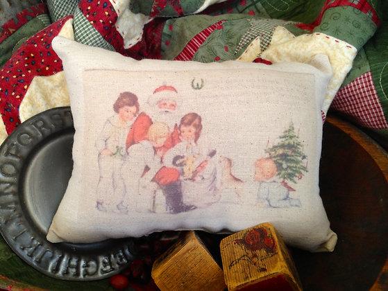 "Olde Vintage ""Little Girls"" Pantry Pillow"