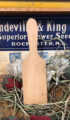 NEW!  Antique Farm Find Butter Paddle #76
