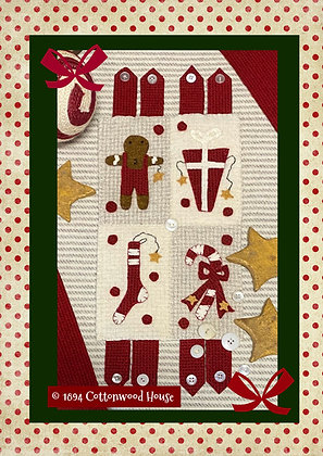 """NEW!  #613 """"The Sweetest Wooly Christmas Quilt"""""""