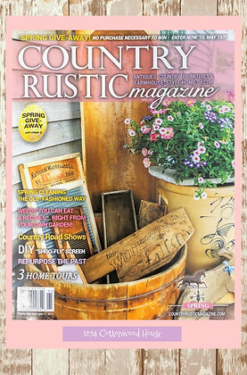 NEW!  Country Rustic Magazine Spring 2019