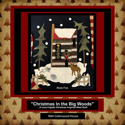 """NEW!  #482 """"The Log House"""""""