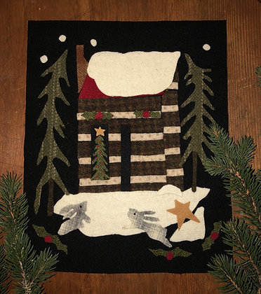 "NEW!  #436 ""A Cabin Christmas"" Block Five"