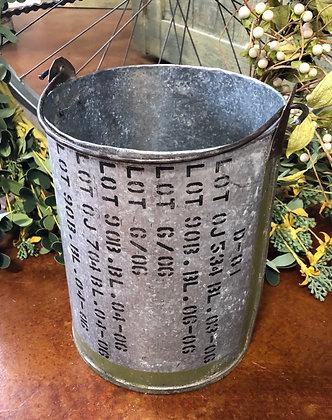 NEW!  Olde Tin Bucket