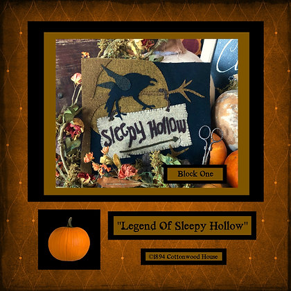 "NEW!  #447 ""Sleepy Hollow"""